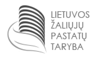 Lietuvos žaliųjų pastatų tarnyba logotipas